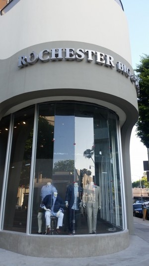 Commercial Cleaning & Window Cleaning Rochester store and Troy Burch Beverly hills Rodeo Drive, CA