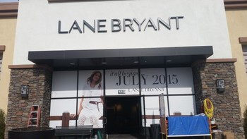 Commercial cleaning & window cleaning Lane Bryant Redlands, CA